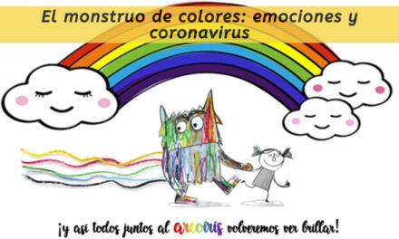 El monstruo de colores: emociones y coronavirus