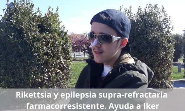 Rikettsia y epilepsia supra refractaria farmacorresistente. Ayuda a Iker