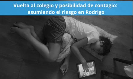 Vuelta al colegio y posibilidad de contagio: asumiendo el riesgo en Rodrigo