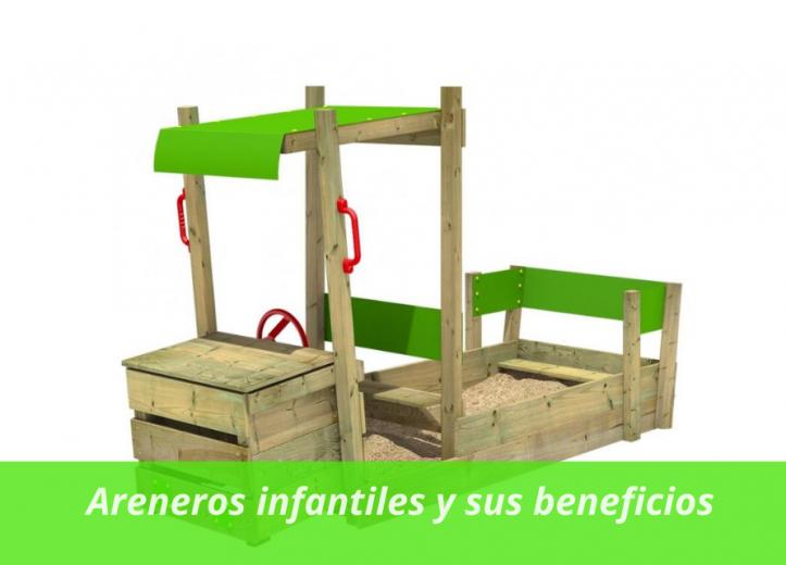 Areneros infantiles y sus beneficios