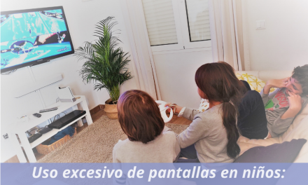 Uso excesivo de las pantallas en niños: Screen Pollution