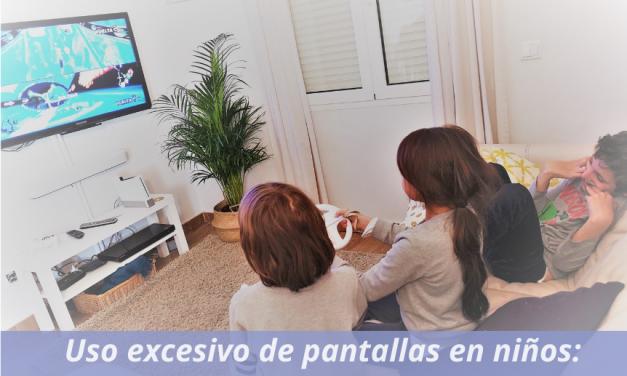 Uso excesivo de las pantallas en niños: Screen Pollution