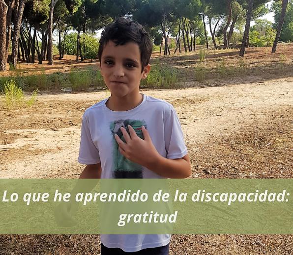 Lo que he aprendido de la discapacidad: gratitud