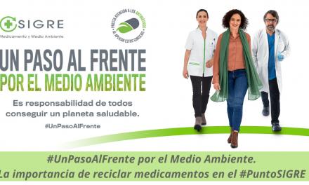 #UnPasoAlFrente por el Medio Ambiente. La importancia de reciclar medicamentos en el #PuntoSIGRE