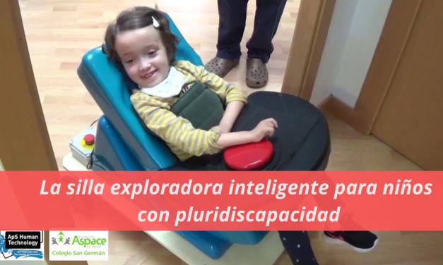 La silla exploradora inteligente para niños con pluridiscapacidad