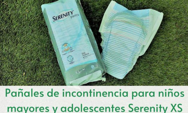 Pañales de incontinencia para niños mayores y adolescentes Serenity XS